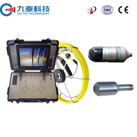 360 Degree Rotation Pan and Tilt Industrial Inspection Camera for Large Pipe