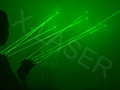 High brightness green laser glove/Stage DJ Club chargeable gloves laser show