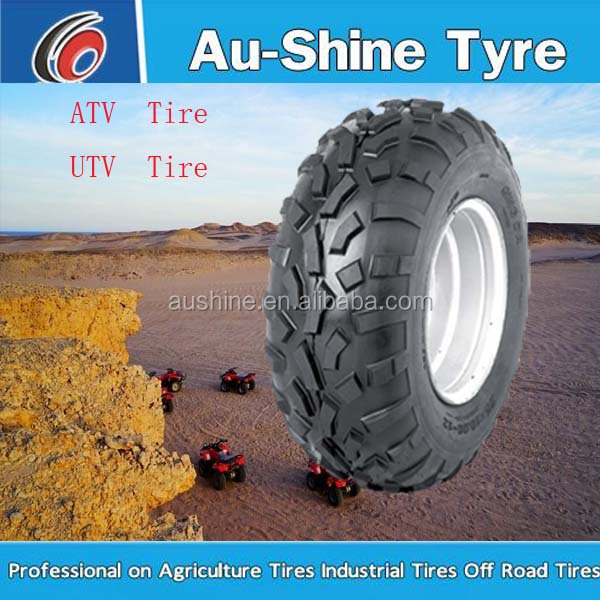 ATV tyre/tire 22x10-10 21x7-10 20x10-9 25x8-12 25x10-12 atv tire with cheap price sales for USA