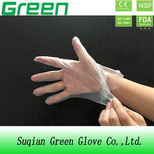 disposable cleaning gloves/pe gloves/plastic gloves