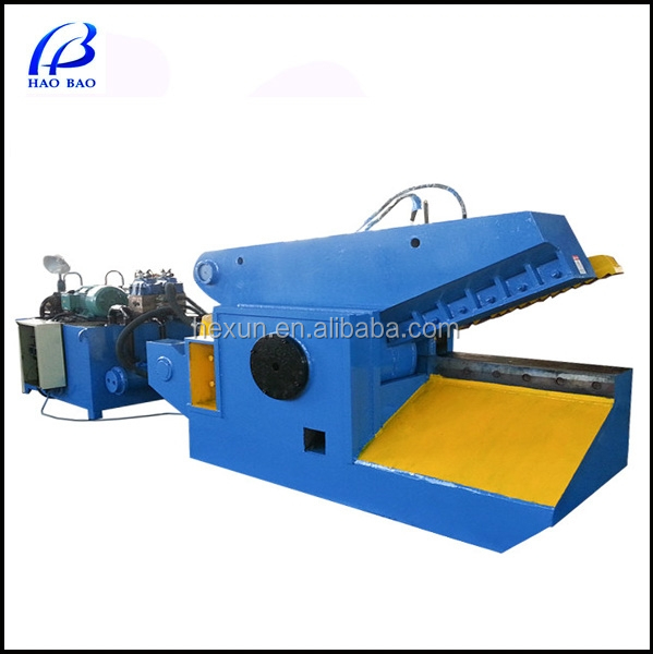 EYJ-250 Hot sale hydraulic Iron/ Cooper /Aluminum/Steel Scrap Metal Recycling Cutting Machine for sale