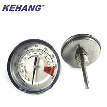 BBQ pizza oasting oven thermograph temperature gauge