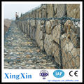 galvanized hexagonal box shaped gabion price/gabion