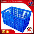 plastic vegetable crate in supermarket