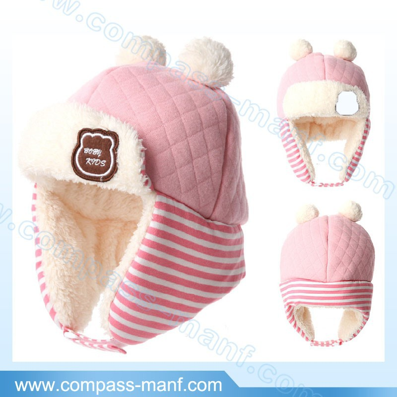 Toddler Earflaps kids Winter Aviator Trapper Cap