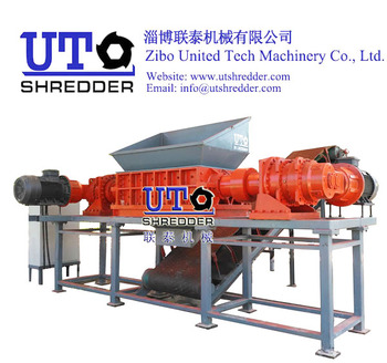 Double Shaft Shredder / Heavy Duty Shredder / Furniture Shredder/ Mattress Crusher