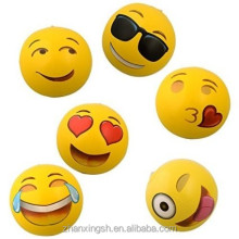 Different kinds of face emoji plastic inflatable beach ball