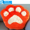 Plush Foot Decorative Cushion Pillow Stuffed