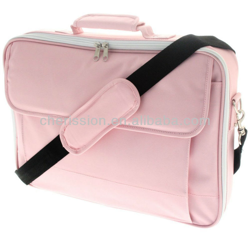 15.4 to 15.6 inch Pink Laptop Case With Strap