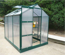 Small PC sheet covered household garden greenhouse