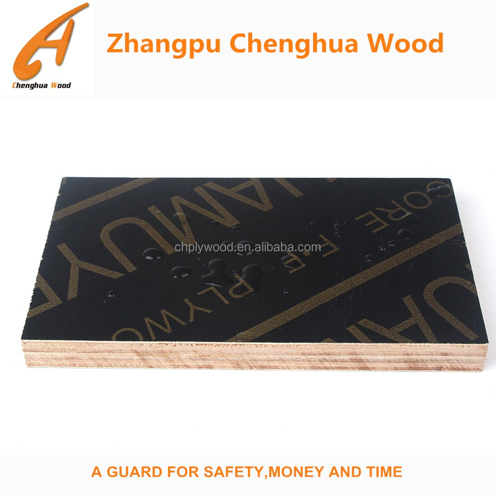 Waterproof exterior plywood for concrete formwork