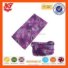 wholesale classical paisley custom designs Neck tube top selling seamless multiscarf