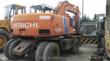 Cheap Price Second-hand Used Japan Hitachi Wheel Excavator EX100 for sale