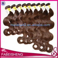 AAAAA grade wholesale body wave expression red weaves hair