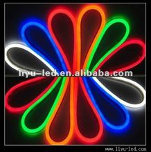 Wholesale Different Colors Custom DMX RGB LED Neon flex light, neon flex rope light