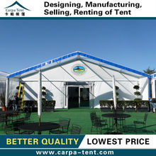 15x20m waterproof family tent with aluminum alloy frame