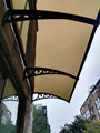 Bronze Polycarbonate window for sunshade/Awning