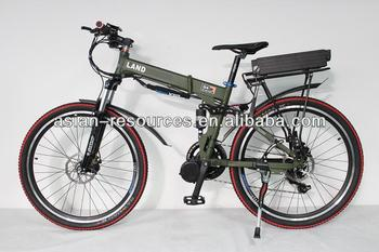 2014 New Off Road Electric Bike 48V 800W Mid-Drive Foldable Frame+7-speed+48V 16Ah Li-ion Battery+LCD Display
