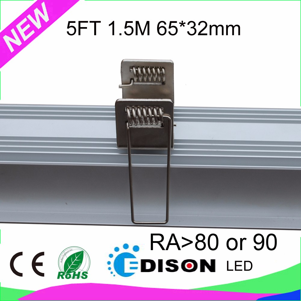 3 years warranty 65*32*1200mm 40W 4FT LED recessed linear light