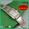 Popular japan movt quartz watch stainless steel back