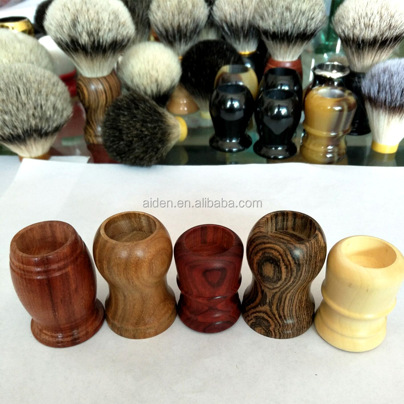 AIDEN-- Wholesale Private Label Wooden /Resin/Metal &Resin Handle Shaving Brush Handles