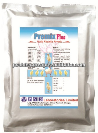 Multi vitamin premix for poultry feed