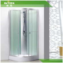 Free sample 8mm glass thickness complete enclosed shower room