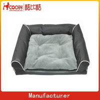 washable Oxford snoozer pet sofa bed
