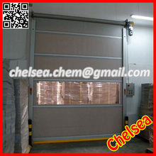 Fast speed industrial auto roll up top shutter door