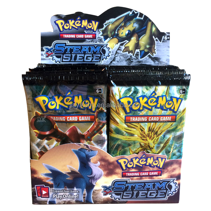 Pokemon XY booster box cards