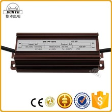 high efficiency dimmable constant current 60w led driver 1800ma