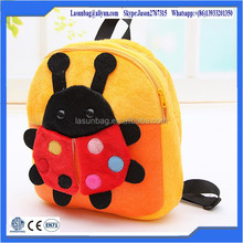 Super Soft Cute Plush Kids Baby Zoo Animal Backpack Factory