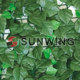High quality Artificial plants leaves artificial hedge fencing indoor plastic fence