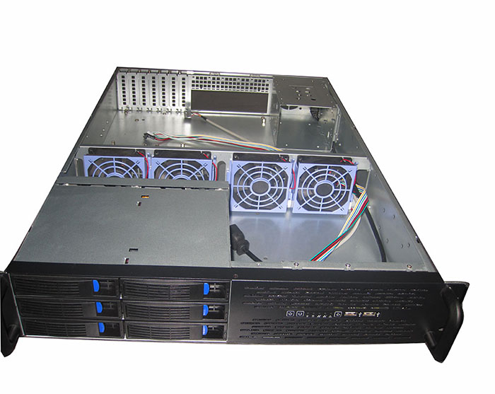 2U Chassis Hot swap Server chassis Network Storage Front 8 Hard disk