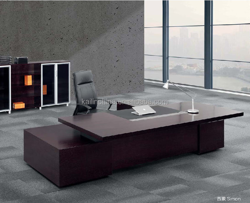 2017 Popular Modern Design Veneer Finished Office Executive Desk Manager  Table, View Modern Office Table, KALN Product Details From Guangzhou Kailin  ...