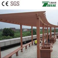 Super Quality Simple Design Garden WPC Pergola