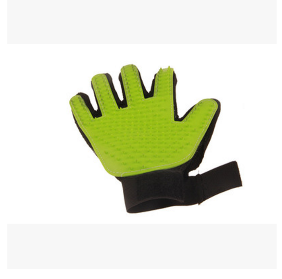 Pet Cleaning Brush Glove Dog Comb Silicone Bath Mitt Pet Dog Massage Hair Removal Grooming Glove Pet Supplies