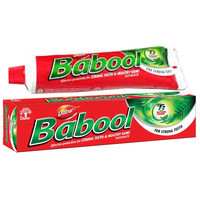 Dabur Babool Toothpaste 100gm~ Pure Herbal ~ Pay