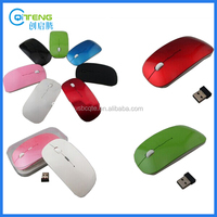 Ultra Slim 2.4G Colourful Wireless Mouse As Pormotional Gift