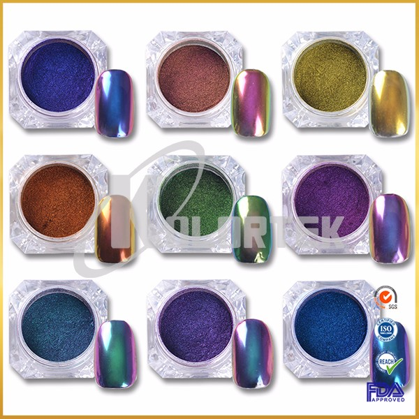 Color changing chameleon nail powder supplier