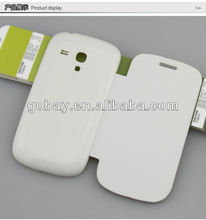 spice leather mobile phone for samsung 8190 case