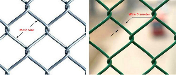 golf course security fence