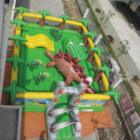 awesome vivid and popular Jurassic park inflatable bounce toddlers