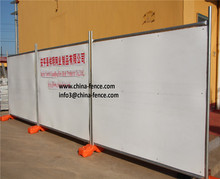 PE Sheet Temporary Hoarding Wall / 6ft temporary fencing panels