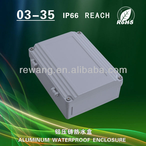 IP66 aluminum enclosure box