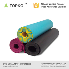 2017 Wholesale TOPKO Manufacturer Double Layer High Density Eco Yoga Mat