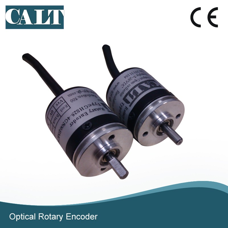 CALT 25mm solid shaft incremental Mini rotary encoder