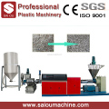 Pe Pp Flake Granulation Line Hdpe Pelletizing Machine