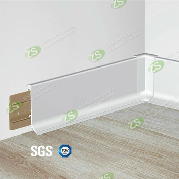 Wall Base Boards PVC and Aluminum covers skirting board