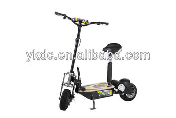 CE Approval 1500W Brushless Motor 48V12AH folding e-scooter